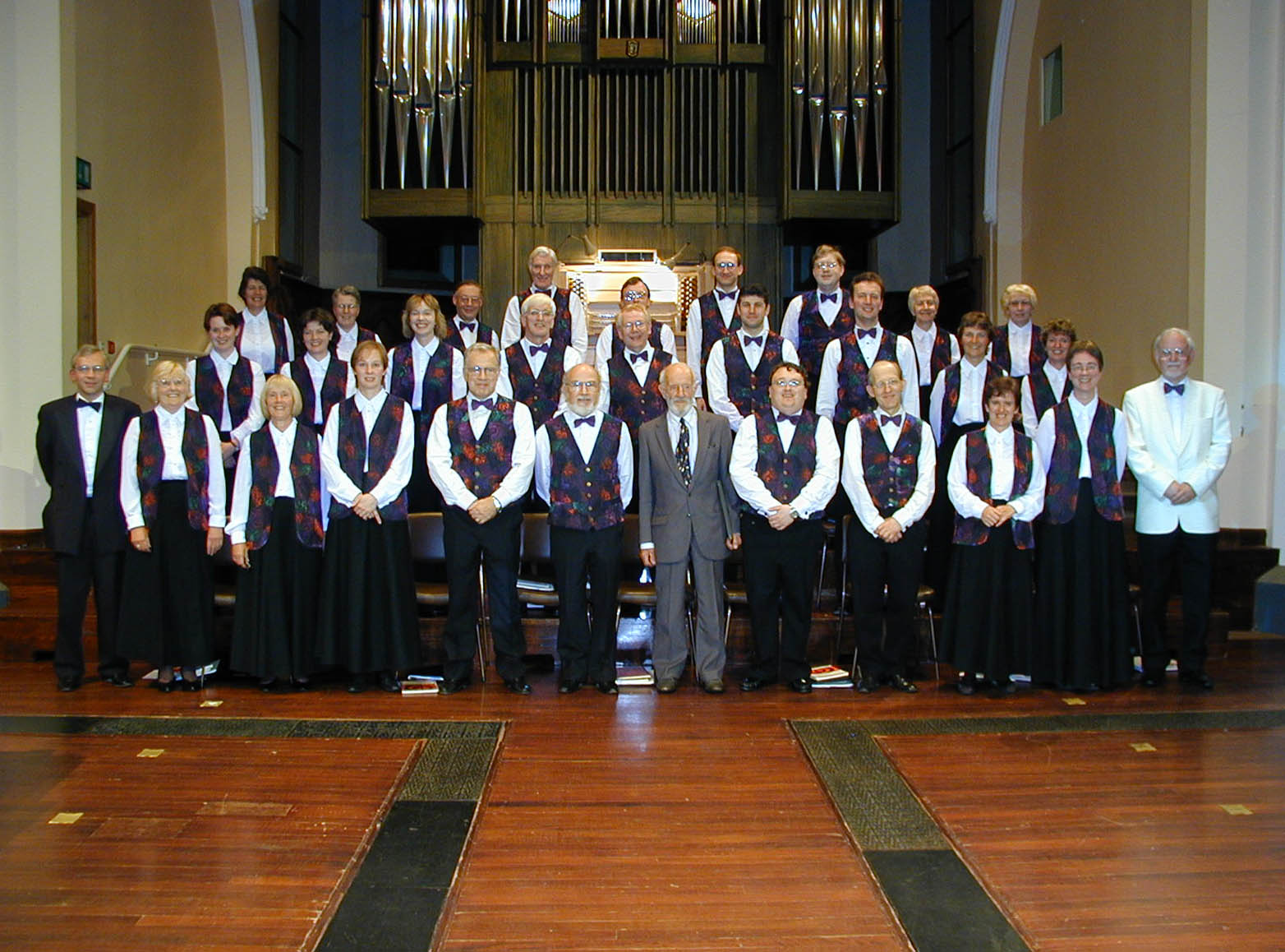 The Huddersfield Singers' 125th anniversary concert in St Paul's Hall [Photo: Richard Hallas]